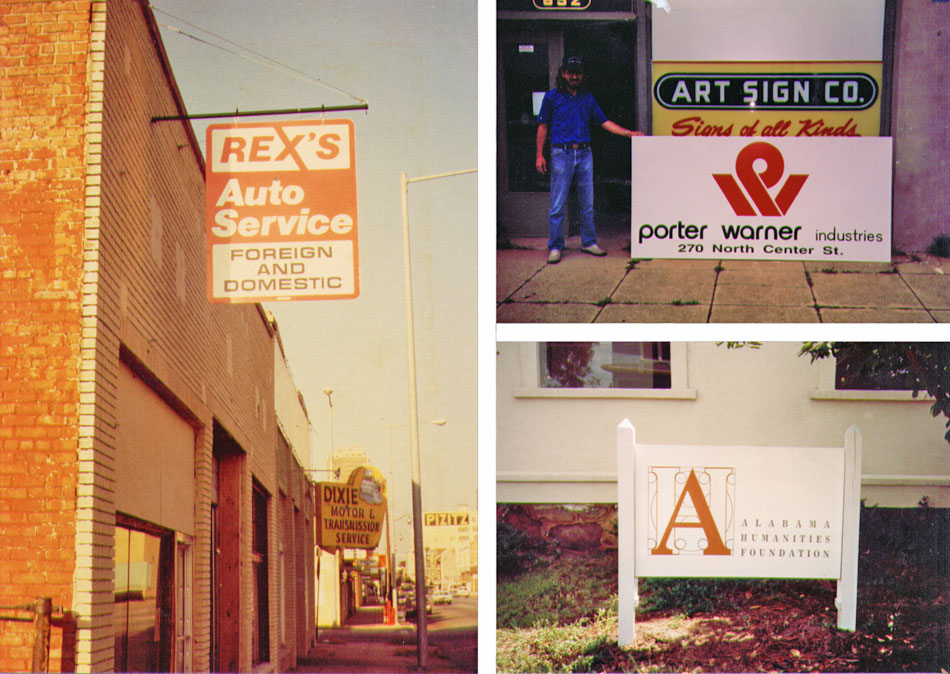 Art Sign Company Birmingham Alabama Storefront